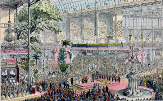 The Opening of the Great Industrial Exhibition of All Nations (London, 1851)
